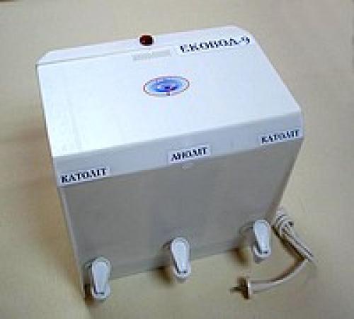 Водоочиститель Эковод 9 для воды из колодцев и скважин