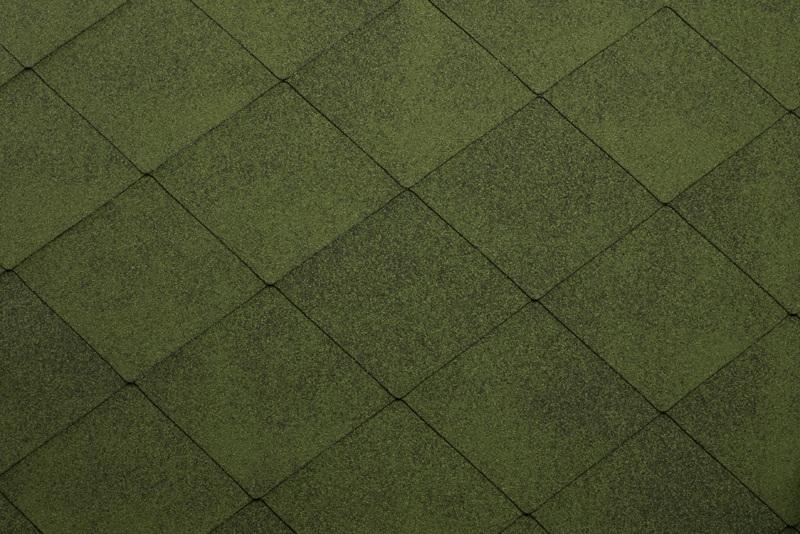 Битумная черепица Ruflex Super Foxy, зеленый