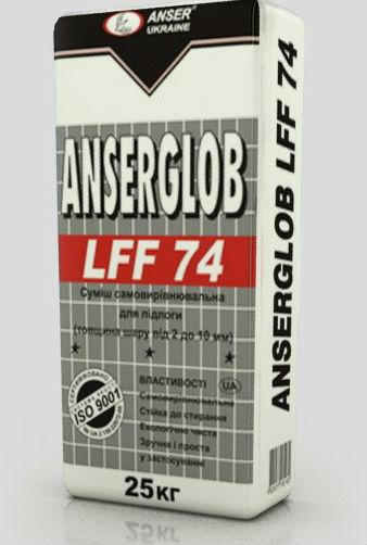 Смесь самовыравнивающаяся ANSERGLOB LFS 74 25 кг