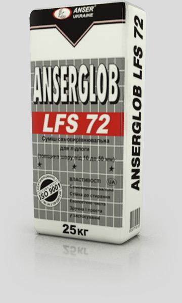 Смесь самовыравнивающаяся ANSERGLOB LFS 72 25 кг