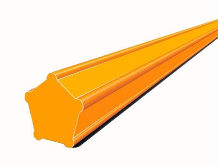 Косильная струна Stihl диаметром 2,4 мм пятиугольная
