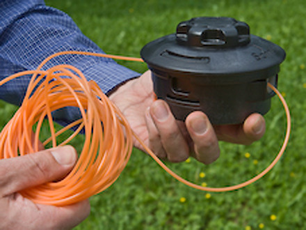 Косильная струна диаметром 2,7 мм квадратная