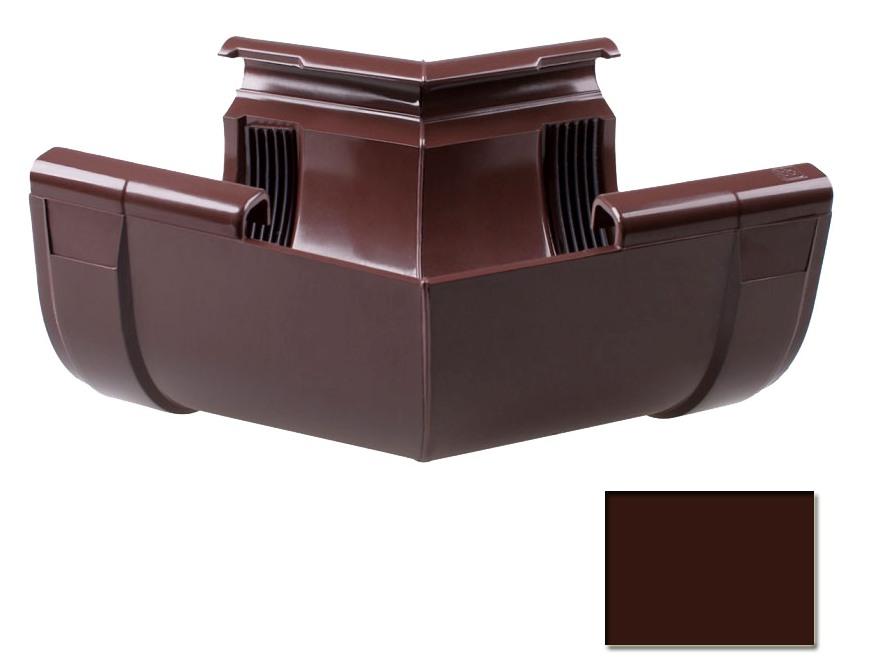 Угол внутренний Profil 130 W коричневый 8017 (код 004)