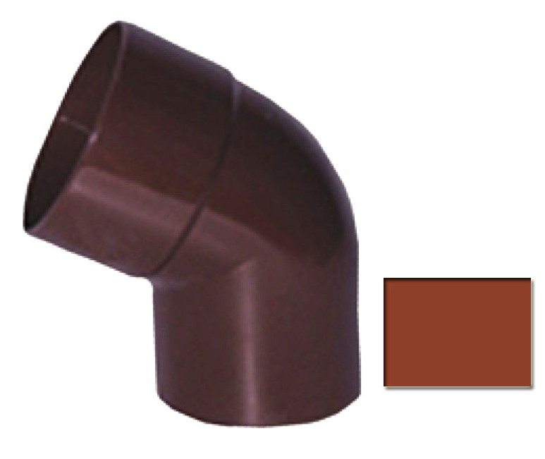 Колено Profil 130 d100/60 гр кирпичный 3009 (код 009)