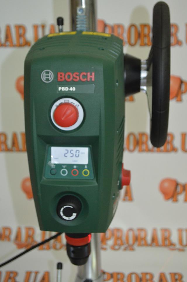 панель управления Bosch pbd 40