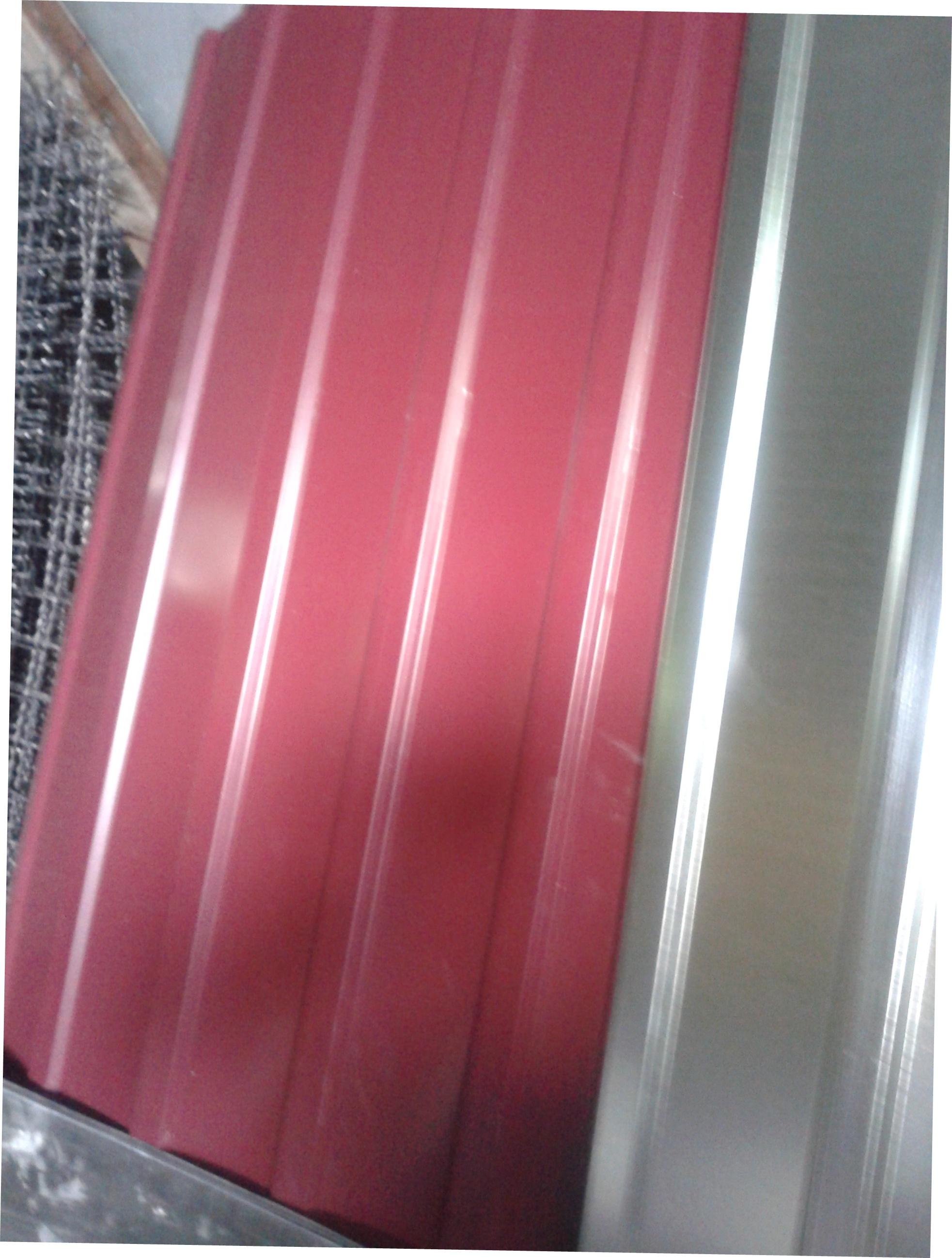 Профнастил СеткаМаркет 0.95x2 красный