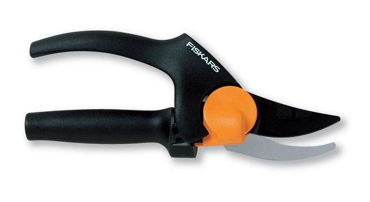 Секатор плоскостный Fiskars PowerGear 26 мм с силовым приводом