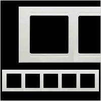 Рамка 5-я  Modernа белый