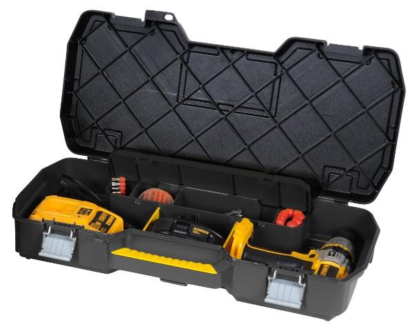 ящик инструментальный для электроинструментов 61 x 11 x 33 см с металическими замками STANLEY STST1-70737
